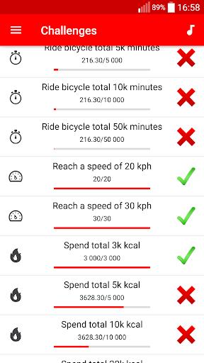 Cycling - Bike Tracker modavailable screenshots 7