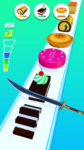 Food Slicer – Slice Veggies, Fruits, Bread, Cakes  screenshots 2