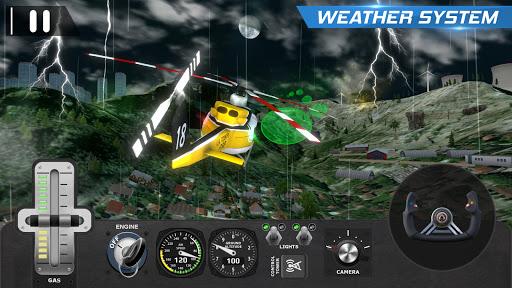 Helicopter Flight Pilot Simulator android2mod screenshots 7