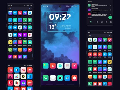 Nova Icon Pack - Rounded Square Icons Screenshot