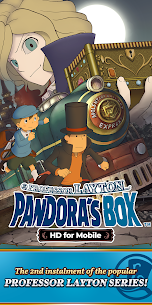 Layton: Pandora's Box in HD 1.0.1 MOD for Android 1