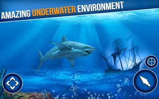 Spearfishing Wild Shark Hunter - Fishing game  screenshots 2