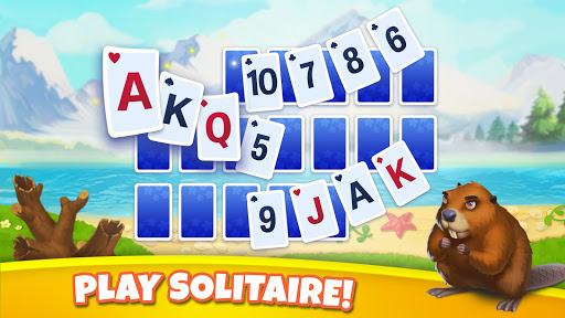 Solitaire Arcane: Fun Card Patience & Travelling apkpoly screenshots 6
