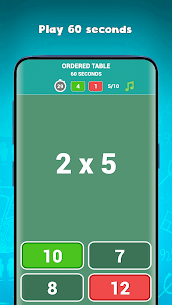 Free multiplication tables games (times tables) Apk 3