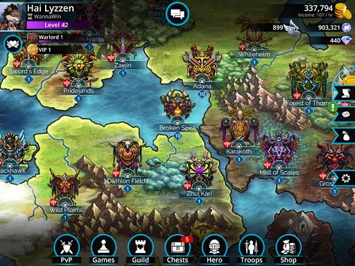 Gems of War - Match 3 RPG screenshots 12
