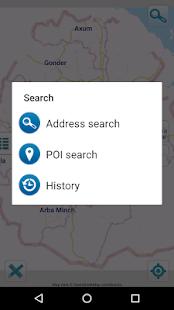 Map of Ethiopia offline