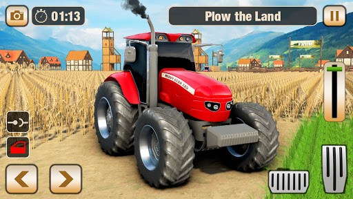 Real Tractor Driving Games- Tractor Games 1.0.14 screenshots 1