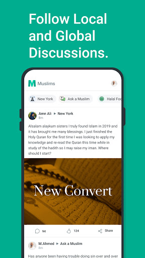 Muslims: Platform for discussions and Islamic Q&A 1.0.3 Screenshots 2