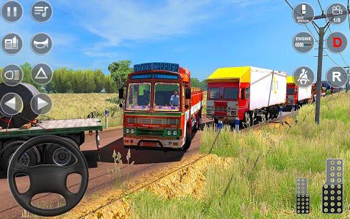 Indian Truck Spooky Stunt : Cargo Truck Driver 1.0 screenshots 15