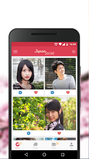Japan Social: Dating, Chat with Japanese or Asians  screenshots 1
