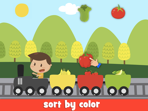 Learn fruits and vegetables - games for kids 1.5.4 screenshots 12