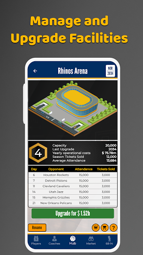 Ultimate Basketball General Manager - Sport Sim screenshots 4