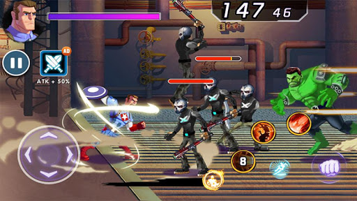 Captain Revenge - Fight Superheroes modavailable screenshots 3