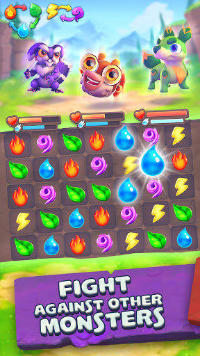 Monster Tales - Multiplayer Match 3 Puzzle Game  screenshots 1