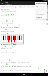 Guitar chords and tabs 2.2.8 Screenshots 6