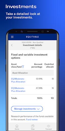 Equitable Mobile App screenshot 5