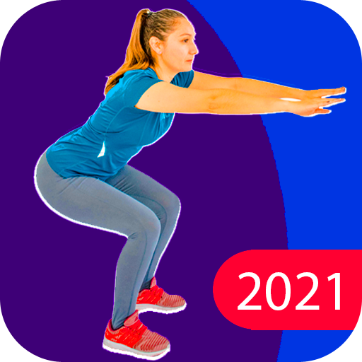Exercises at home to lose weight and tone woman icon