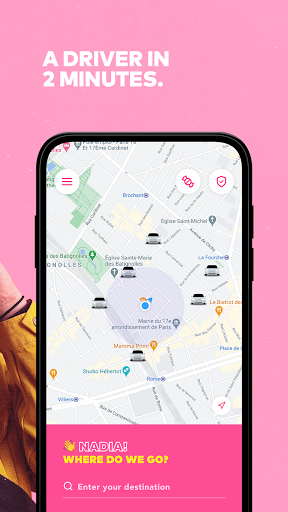 Heetch - Ride-hailing app 5.1.0 Screenshots 2