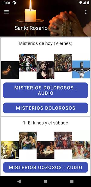 Captura 2 de Audio Santo Rosario para android