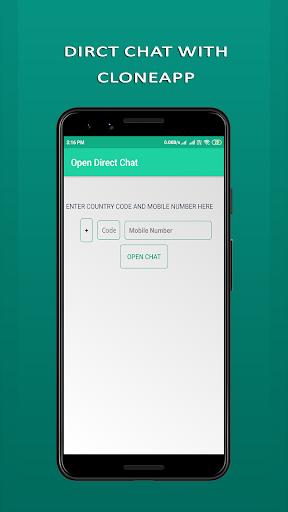 Cloneapp Messenger chat 2020 Screenshot 2