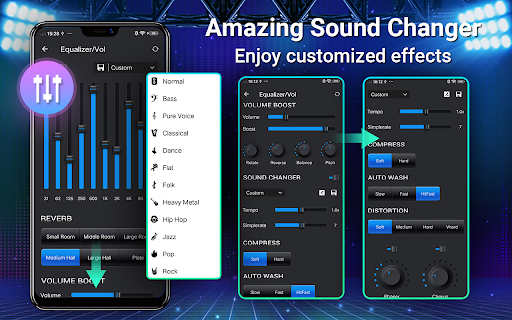Music Player - MP3, Equalizer android2mod screenshots 12