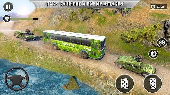 Army Prisoner Transport: Truck & Plane Crime Games 10