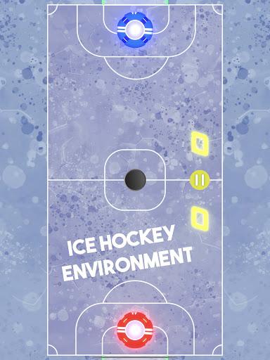 Air Hockey Glow HD screenshots 12