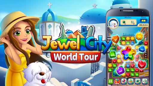 Jewels City POP : Match 3 World screenshots 8