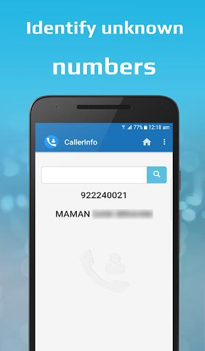 CallerInfo: Caller ID, Number lookup, Number book 4.0 Screenshots 2