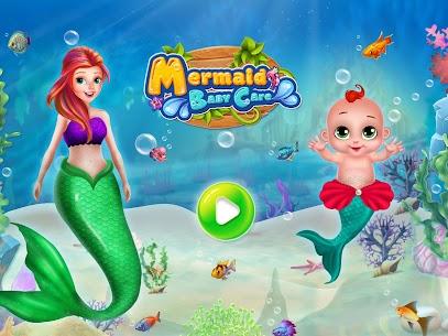 Little Mermaid Baby Care Ocean World 6