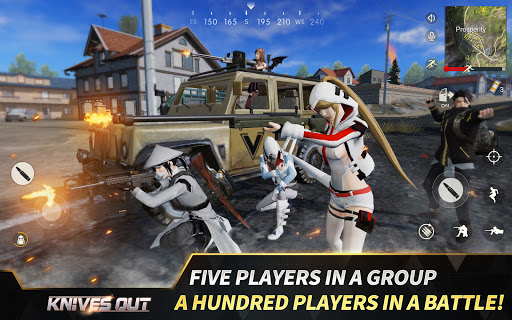 Knives Out-No rules, just fight! apkpoly screenshots 8