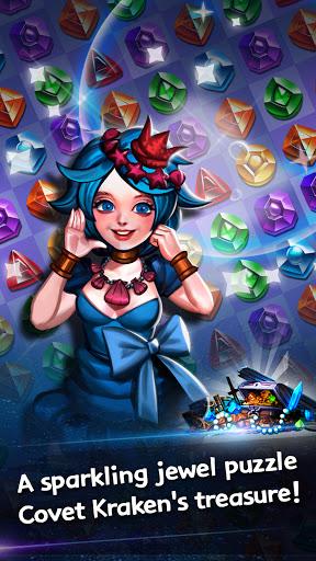 Jewel Kraken: Match 3 Jewel Blast 1.9.1 screenshots 3