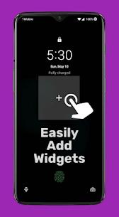 Lockscreen Widgets Mod Apk v1.16.0 (Paid) 2