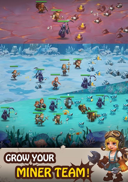 Mine Legend 2 - Idle Miner RPG screenshot 9