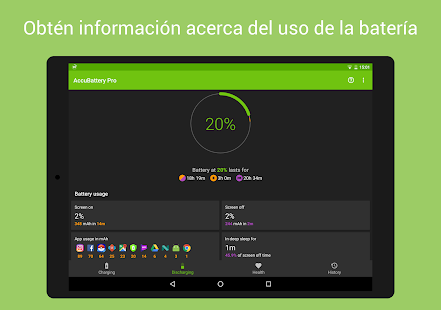 Accu​Battery - Batería Screenshot