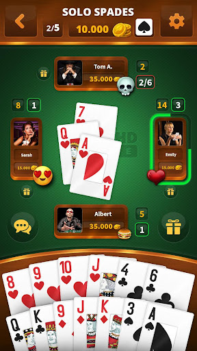 Spades -Batak HD Online 48 Screenshots 1
