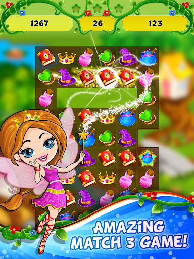 Fairy Tale ud83cudf1f Match 3 Games apkpoly screenshots 11