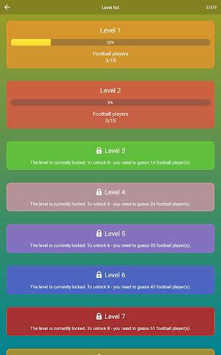 Guess the Soccer Player: Football Quiz & Trivia 2.30 Screenshots 12