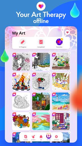 Painting games: Adult Coloring Books, Drawings apkdebit screenshots 16
