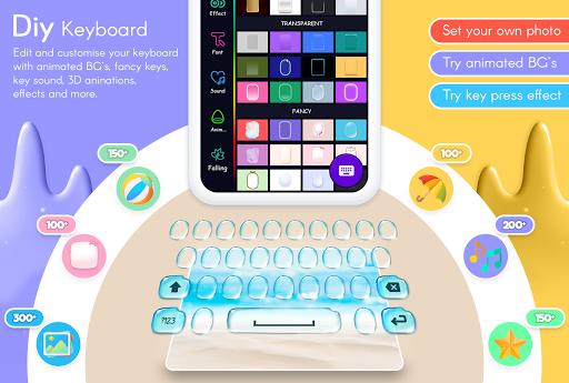 My Photo Keyboard - Picture keypad with Emoji, Led 5.7 Screenshots 3