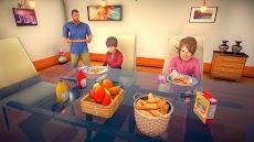 バーチャル 家族 パパ 生活 嬉しい 家族 シミュレーター 3Dのおすすめ画像1