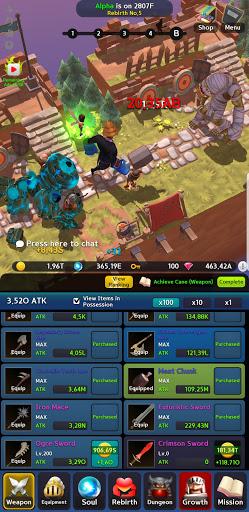 INFINITE KNIGHT : 3D IDLE RPG  screenshots 6