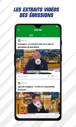 RMC Sport News - Actu Foot et Sports en direct 5.0.2 Screenshots 8