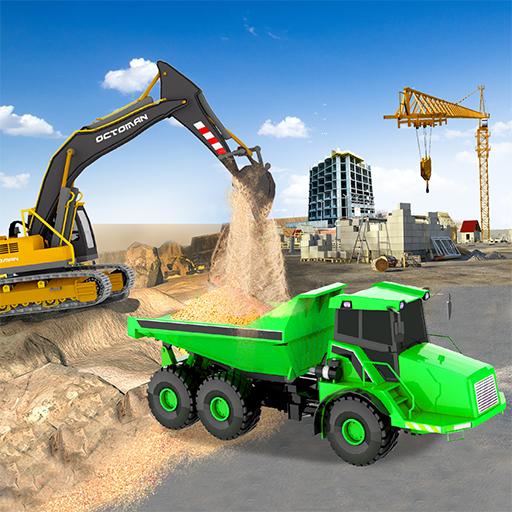 Sand Excavator Simulator 2021: Truck Driving Games