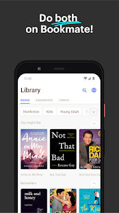 Bookmate: Read Books & Listen to Audiobooks Screenshot