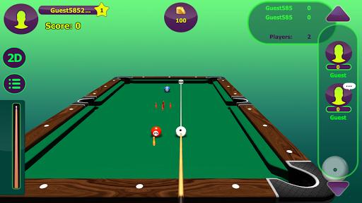 7 pin pool screenshot 1