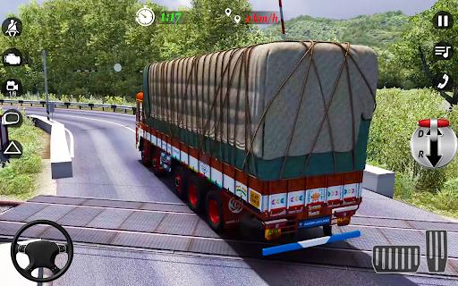 City Cargo Truck Driving 2021: Euro Truck Sim  screenshots 6