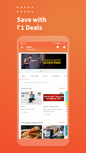 Freecharge - Recharges & Bills, Mutual Funds, UPI Screenshot