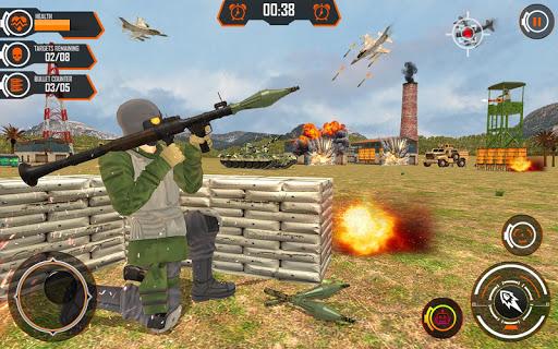Army Bazooka Rocket Launcher: Shooting Games 2020  Pc-softi 11
