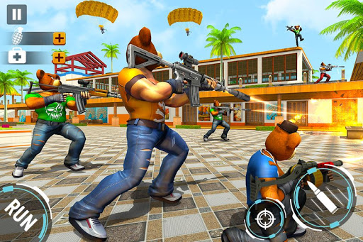 Teddy Bear Gun Strike Game: Counter Shooting Games screenshots 3